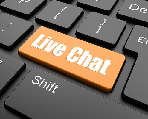 live chat e chatbot